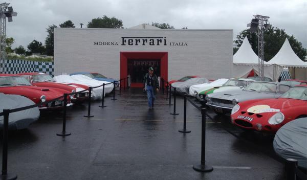 Ferrari en Le Mans Classic 2014