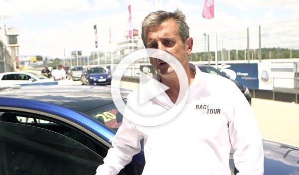Luis Moya participa en el VW Race Tour del Jarama