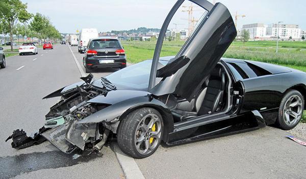 Cinco formas de destrozar un Lamborghini