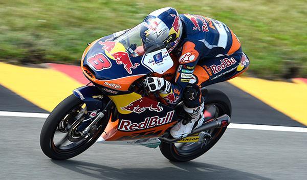 Clasificación Moto3 GP Alemania 2014: todo para Miller