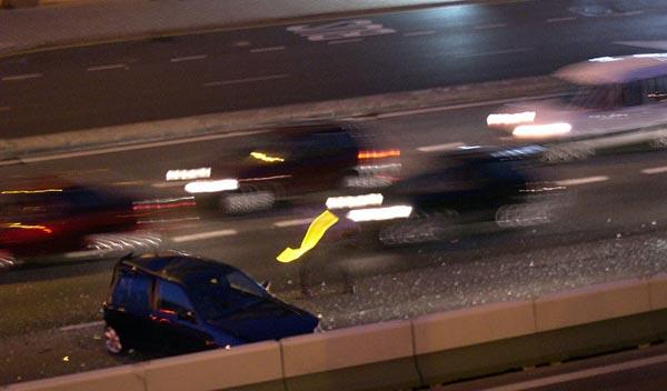 Un preso de Castellón roba un coche y provoca un accidente
