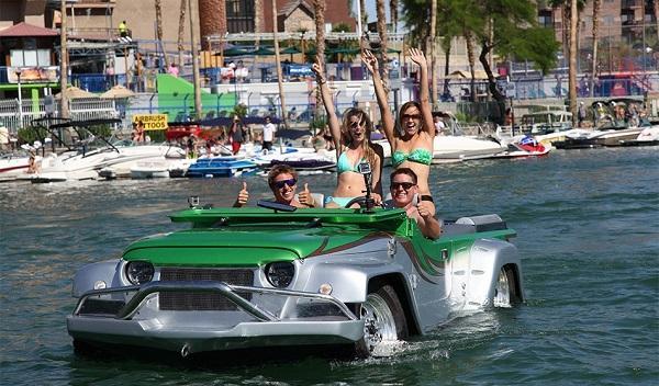 Cinco vehículos anfibios con los que triunfar este verano