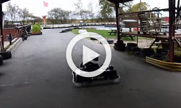 Cómo aparcar un kart como un campeón