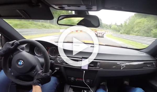 Vídeo: BMW M3 GTS vs BMW M5 Taxi en Nürburgring