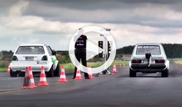 Estos dos Volkswagen Golf modificados te dejarán alucinado