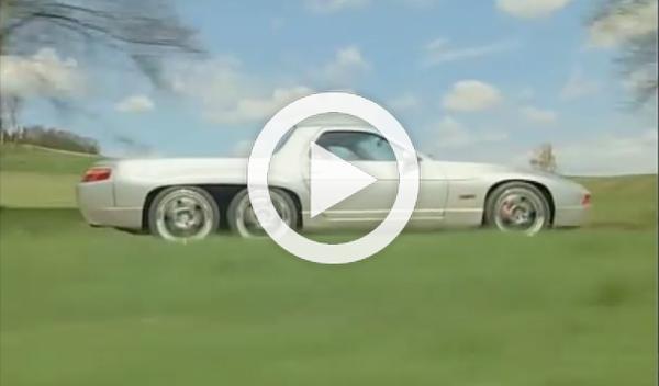 Porsche 928 GTS pick-up de seis ruedas, ¿estamos locos?