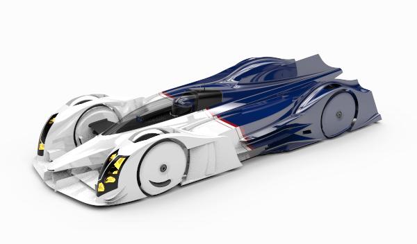 Crean un eléctrico para batir récord en Nürburgring