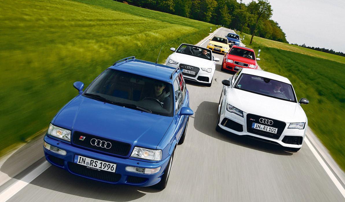 Los 6 Audi RS más radicales