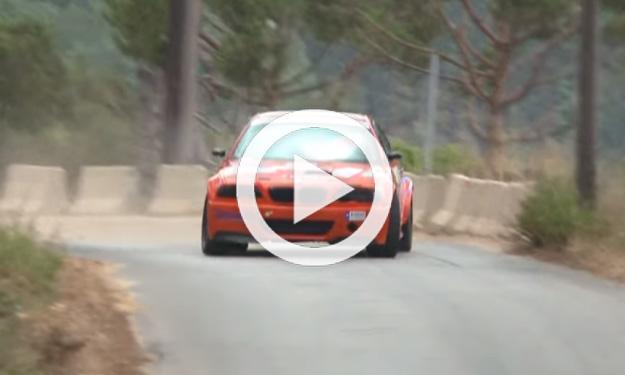 Este armenio es el rey del drifting con su BMW M3 de rallys