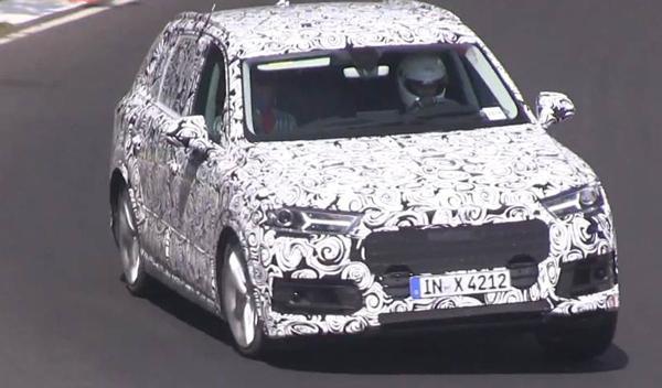 Cazado en Nürburgring el Audi QS7 2015