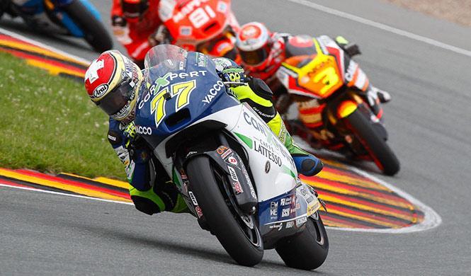 Libres Moto2 GP Indianápolis 2014: Aegerter en cabeza