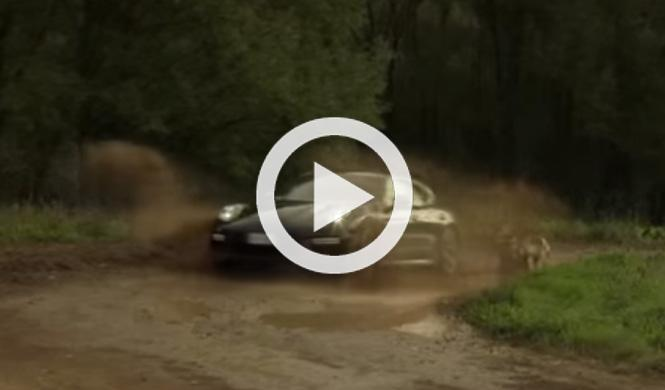 Increíble prueba todoterreno con un Porsche Panamera Turbo