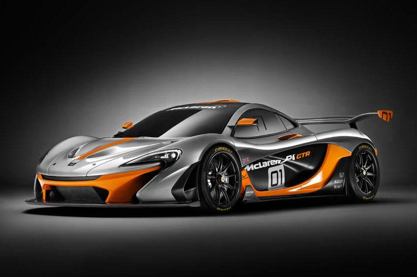 McLaren P1 GTR design concept: 1.000 CV salen a pista