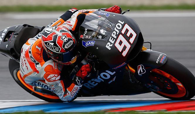 Márquez bate el récord de Brno con la Honda 2015