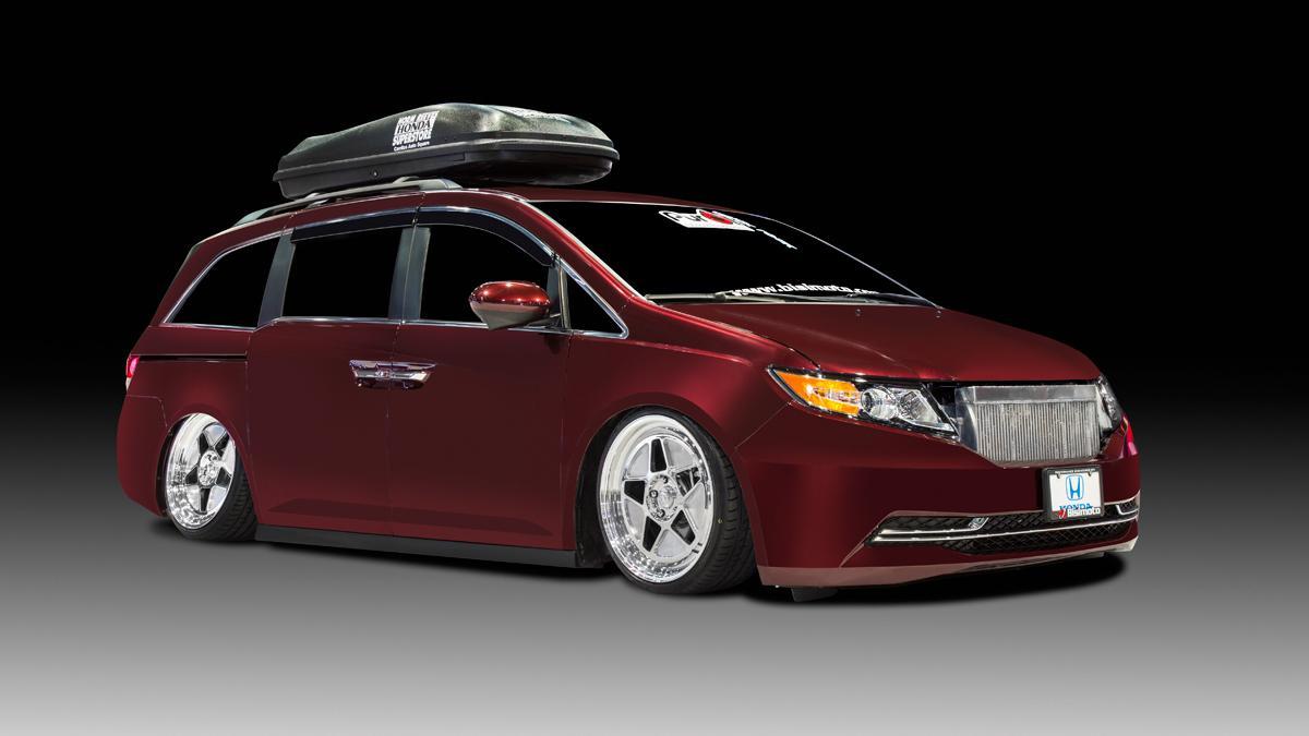 Honda Odyssey delantera