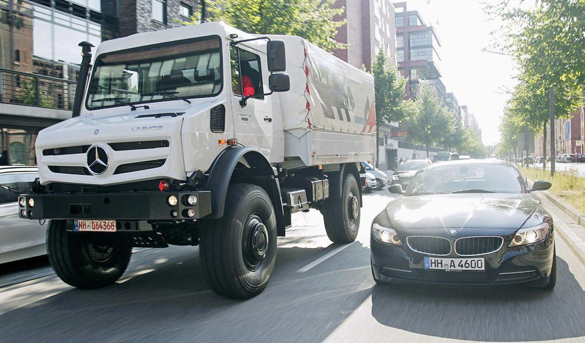 Mercedes Unimog U5023