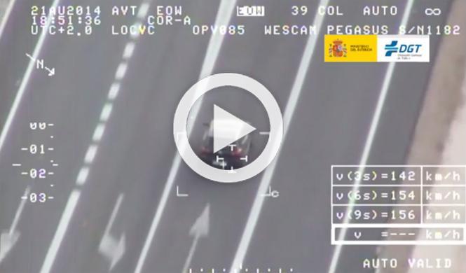 Más de 40.000 denuncias por exceso de velocidad