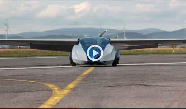 El coche volador saldrá a la venta en 2015 por 70.000 euros