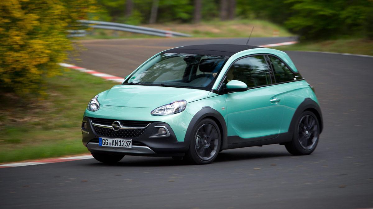 El Opel Adam Rocks estrena un motor 1.0 Ecotec Turbo de 115 CV