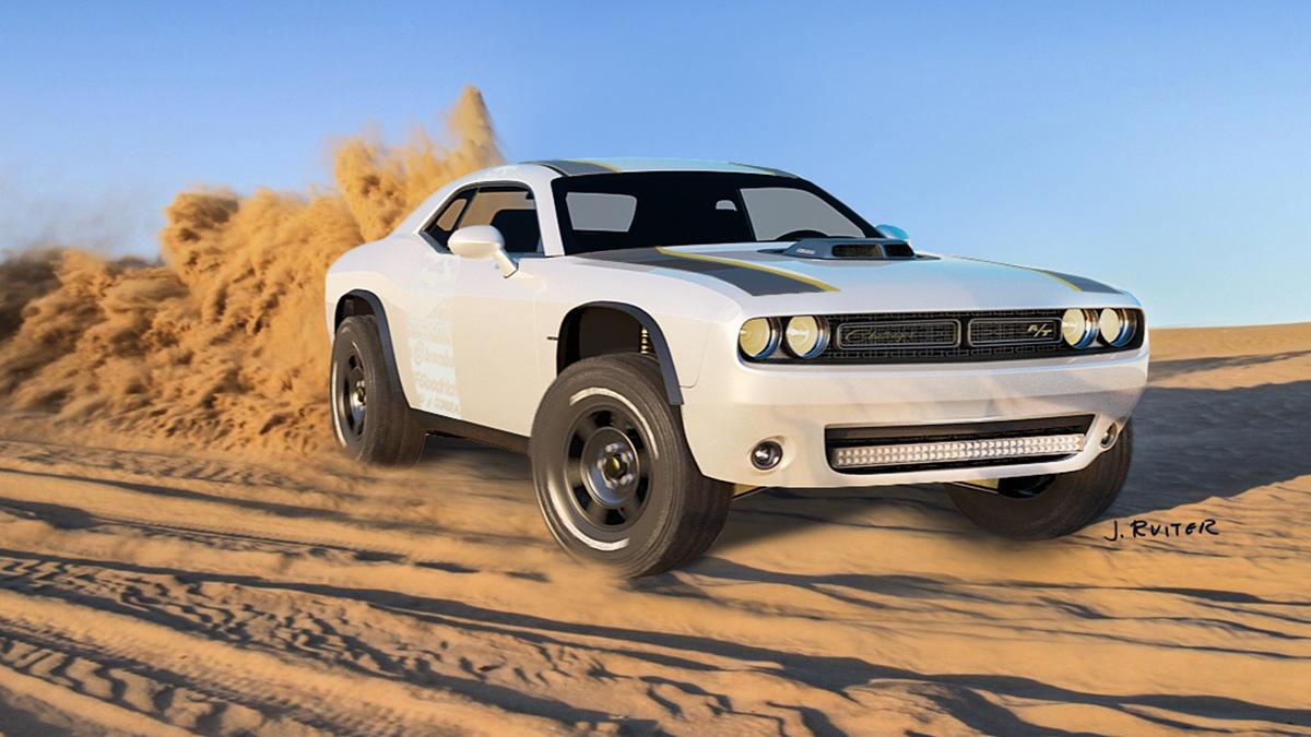 Dodge Challenger A/T Untamed campo