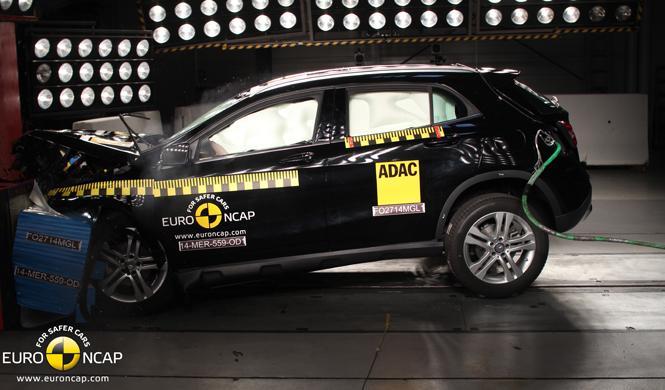Resultados Euro NCAP: Aygo, Berlingo, Evalia, GLA y Twingo