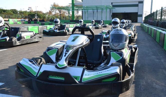 El primer karting eléctrico de España