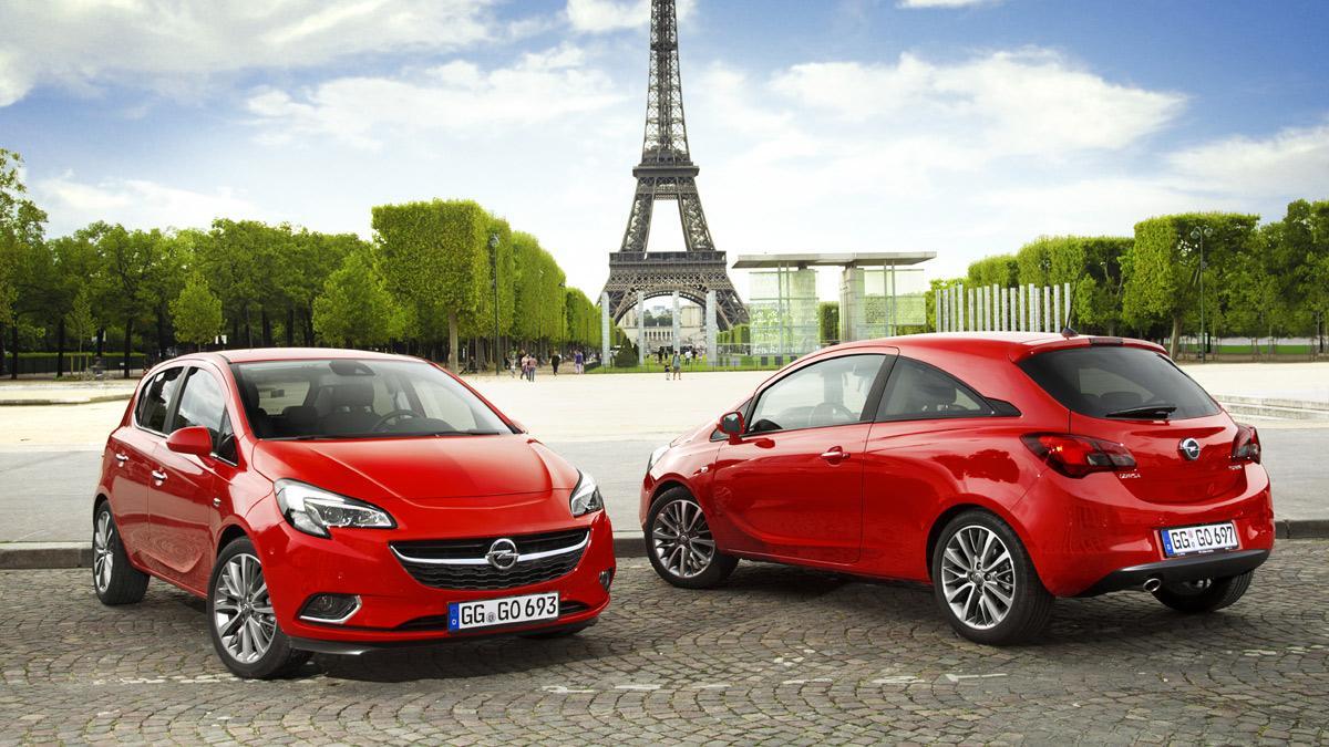 Opel Corsa 2015 carrocerías
