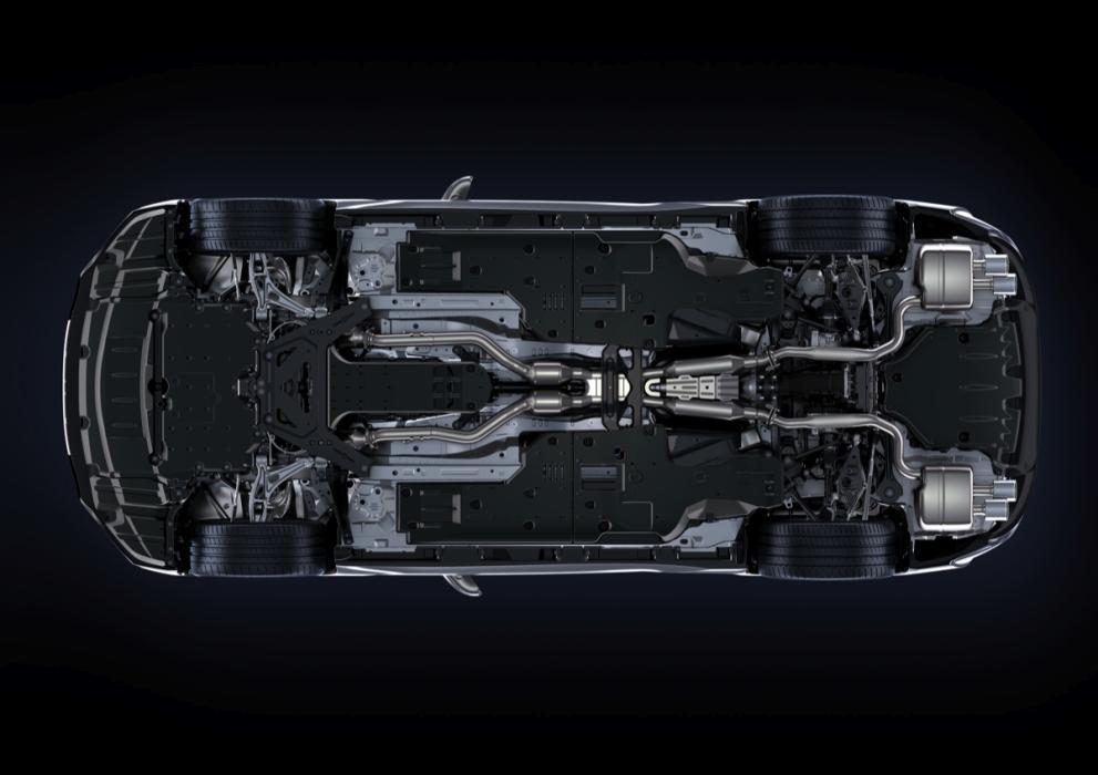 Lexus RC F bajos carenados