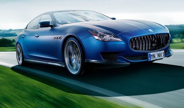 Hazlo tú mismo: 605 CV para el Maserati Quattroporte