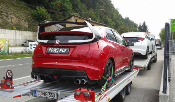 ¿Es este el nuevo Honda Civic Type R de producción?
