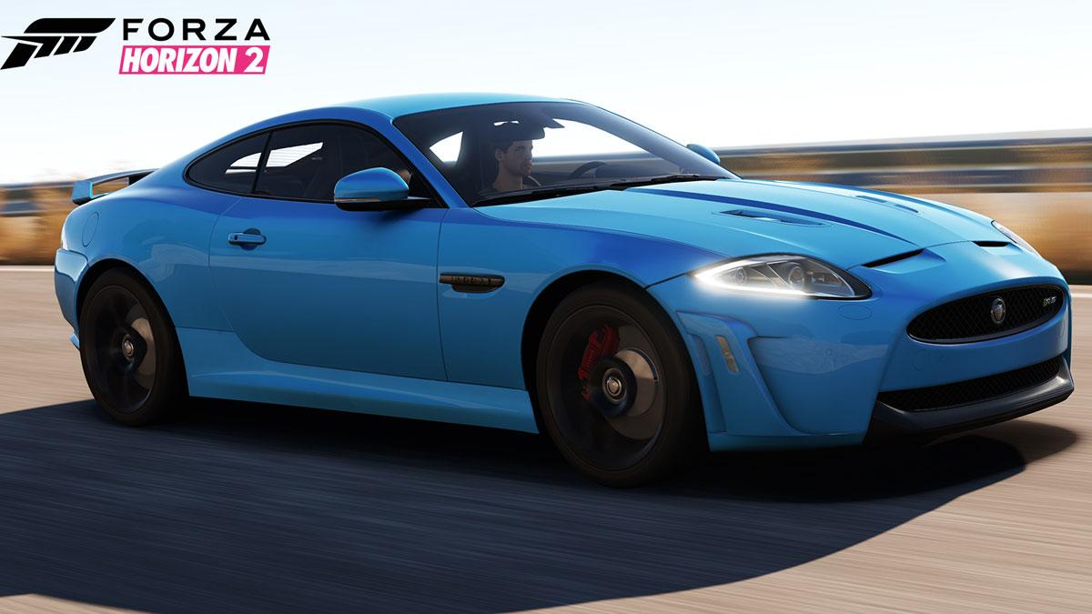 Jaguar XKRS, en Forza Horizon 2