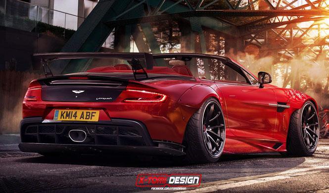 Aston Martin Vanquish Volante by X-Tomy Design