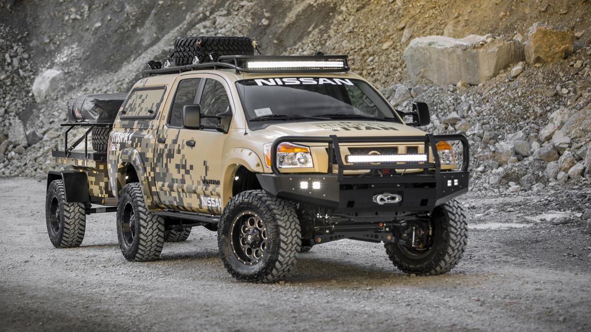 Nissan Project Titan frontal