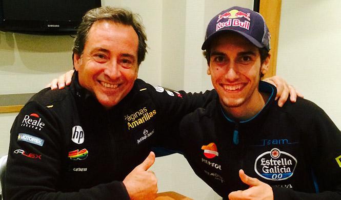 Alex Rins ficha por el equipo de Sito Pons de Moto2