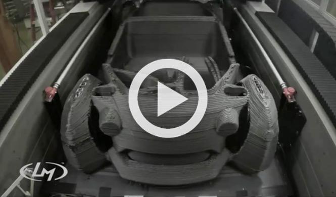 Fabrican un coche con una impresora 3D en 44 horas