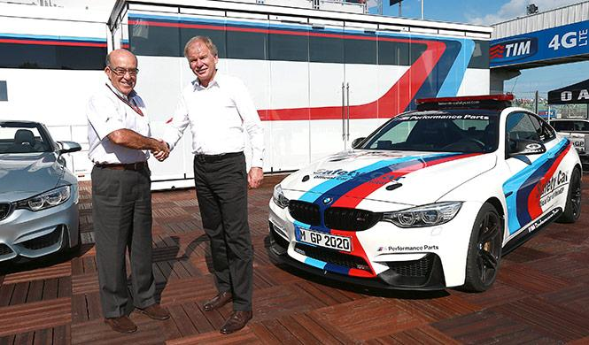 BMW M, coche oficial de MotoGP hasta 2020