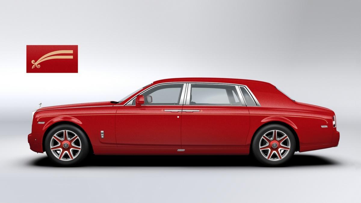 30 Rolls-Royce Phantom para un super hotel de Macao, exterior