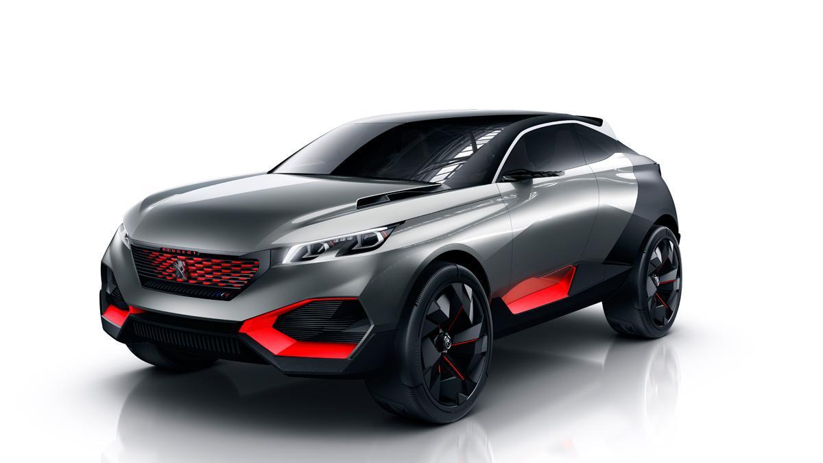 Concept Peugeot Quartz frontal