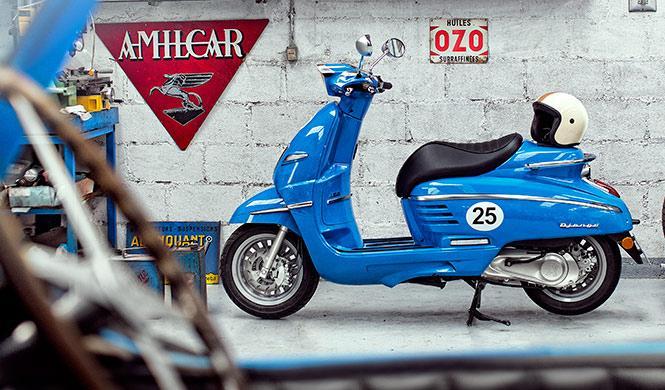 El nuevo scooter Peugeot Django llega a España