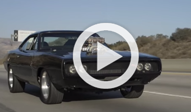 Conduce el Dodge Charger de 1970 de A Todo Gas