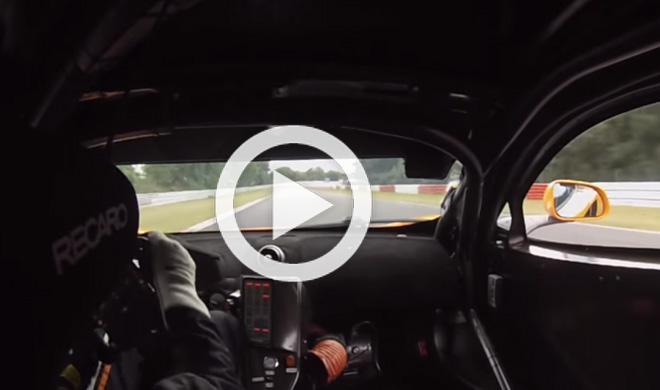 Una vuelta de infarto en Nürburgring con un McLaren