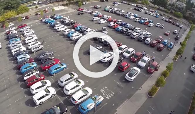 Esta es la mayor concentración de coches eléctricos