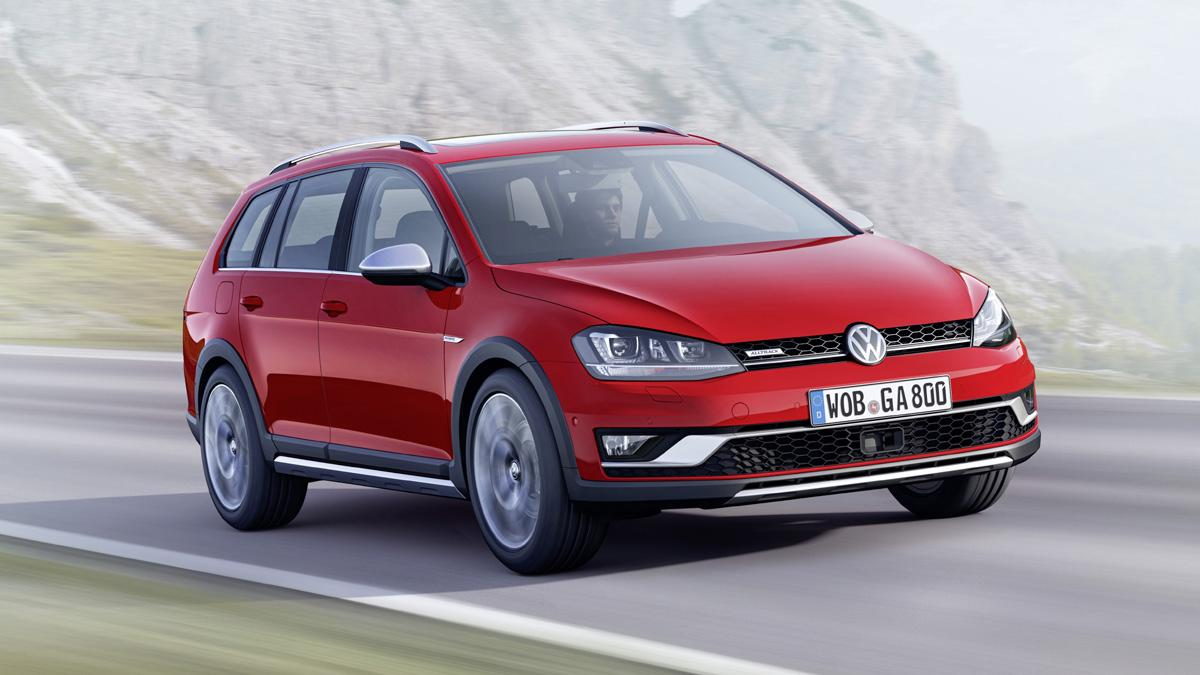 Volkswagen Golf Alltrack frontal