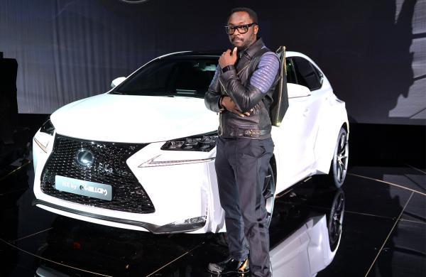 Lexus NX 300 de Will.i.am en la presentación previa al Salón de París