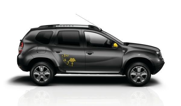 Dacia Duster Blackstorm lateral