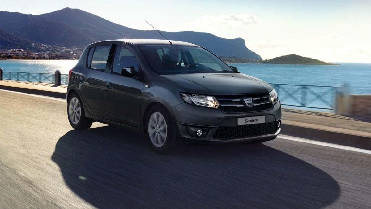 Dacia Sandero Black Touch frontal