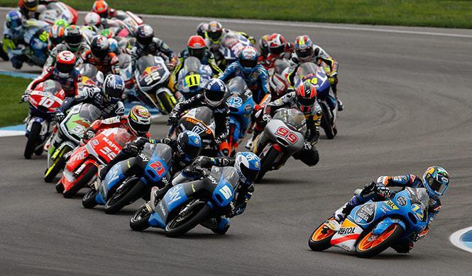 Resultados carrera Moto3 GP Aragón 2014