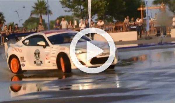 Un Toyota GT86 logra el récord mundial de drift: 142,1 km