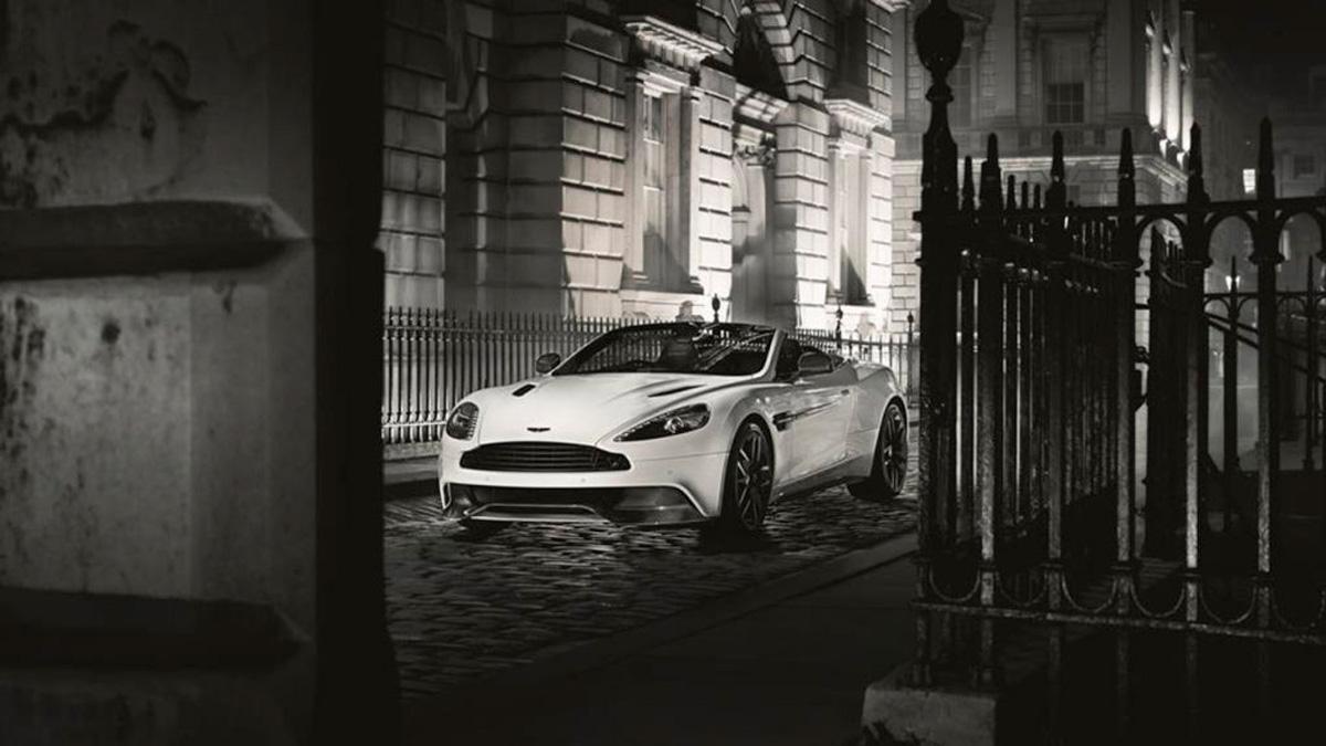 Aston Martin Vanquish Carbon Edition cabrio delantera