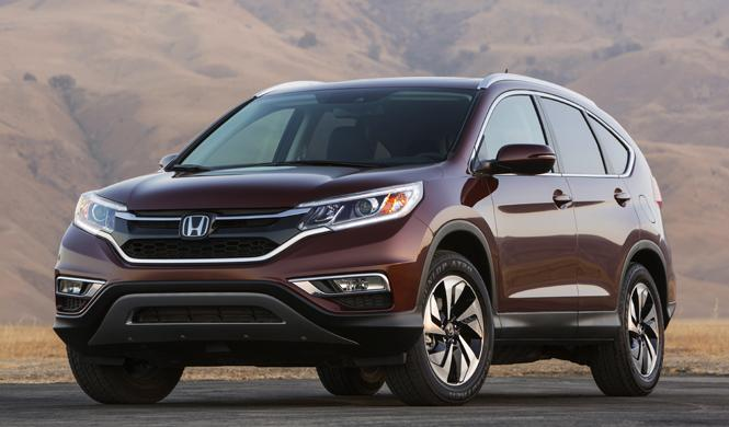 Honda CR-V 2015 americano: desvelada su primera imagen